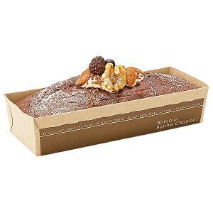 ソリッド パウンドトレー (ブラン) 25枚入 パウンドケーキ型 , パウンド , チーズケーキ , ベーキングトレー , ブランデーケーキ ST204N-25