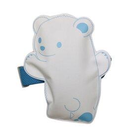 保冷剤 ひえくまランチバンド付き(白×ブルー) 1個入 WEB22-1