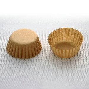 グラシンカップ 5号 丸型 (クラフト) 480枚入 シリコンなし/12穴用 グラシン紙 マフィン , マフィン型 , マフィンカップ , 紙型 , 紙 C5F-480