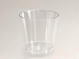 デザートカップ M(無地) 100枚入 ゼリーカップ , ゼリー 容器 , ムース , スイーツ , プラスチック C76180-100