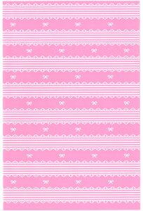 ラッピング袋 M(レースリボン) 100枚入 業務用 小分け袋 焼菓子袋 ラッピング小分け Co56-100