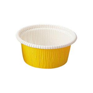 カールカップ S1(黄) 100枚入 チーズケーキ 型 レアチーズケーキ , ガトーショコラ CR03-100