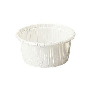 カールカップ M1(白) 50枚入 マフィンカップ マフィン型 カップケーキ ケーキカップ ベーキングカップ レアチーズケーキ 日本製 紙型 使い捨て 紙 紙製 焼型 プレゼント お菓子作り 手作り 製