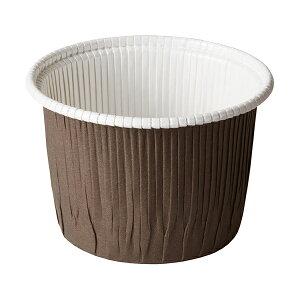 カールカップ LL(茶) 50枚入 カップ シフォンケーキ , シフォンケーキ 型 , シフォンケーキ 紙 CR72-50