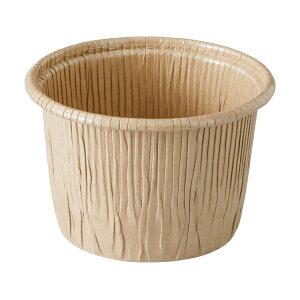 カールカップ LL(クラフト) 50枚入 カップ シフォンケーキ , シフォンケーキ 型 , シフォンケーキ 紙 CR8744-50