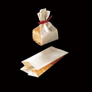 【ポイント5倍 マラソン期間限定!】ラッピング袋 (和紙柄) 50枚入 マチあり マフィンカップ S対応/エージレス対応 小分け袋 , 焼菓子袋 , ラッピング小分け , 紙型 , 紙 FS6100-50