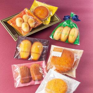ラッピング袋 (8色) 各5枚入 マドレーヌ対応/エージレス対応/アソート 小分け袋 , 焼菓子袋 , ラッピング小分け FU3AS-40