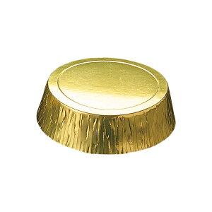 プチガトー ベーキングカップ (ゴールド) 50枚入 チーズケーキ 型 , レアチーズケーキ , ガトーショコラ GA12-50