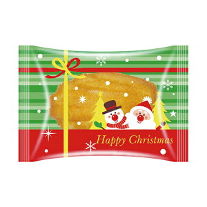 焼菓子袋 (クリスマスリボン) 100枚入 マドレーヌ袋 小分け袋 , 焼菓子袋 , ラッピング小分け KMK10-100