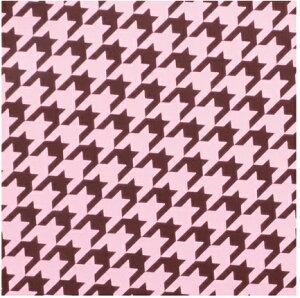 CD-T6 チョコレート転写シート 千鳥格子 5枚 25.5×25.5mm チョコレートに彩りを添え、グッとおしゃれになるのがこの転写紙 バレンタイン 1ランク上 インスタ映え 高級チョコ お菓