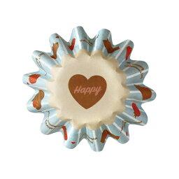 31-869寵物蛋糕茶杯S巧克力蛋糕10張裝烘烤茶杯紙製焼型蛋糕茶杯禮物給的禮物點心製作製造糕點用品情人節百元店