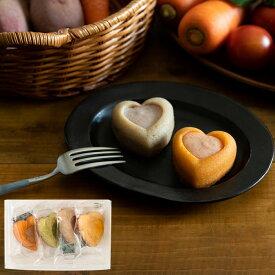 お中元 ギフト 内祝い 出産 結婚 パティスリー ポタジエ 野菜のココロ 4個(PTBH-4) / 結婚内祝い 出産内祝い お返し お菓子 詰合せ