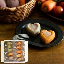 お中元 ギフト 内祝い 出産 結婚 パティスリー ポタジエ 野菜のココロ 10個(PTBH-10) / 結婚内祝い 出産内祝い お返し お菓子 詰合せ