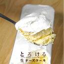 【人気の新食感チーズケーキ!】 とろける生チーズケーキ プレーン