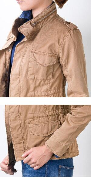 【Ecarina】エカリーナM65ミリタリージャケット