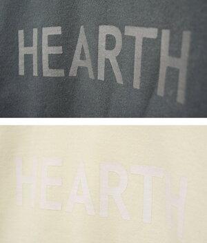 トップスレディース【Ecarina】カリーナ裏毛ロゴプリントプルオーバーパーカー全2色パーカートレーナープルオーバー綿100%コットン長袖HAPTICハプティック