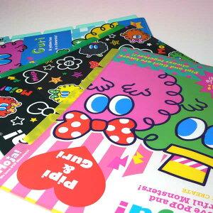 【MOJA!☆モジャ!】新入荷!!5Pファイル☆【モジャ ストラップ】【ストラップ 携帯】【携帯 クリーナー】【ストラップ 子供】 クリスマスプレゼント 子供 女の子 3歳 4歳 5歳 6歳
