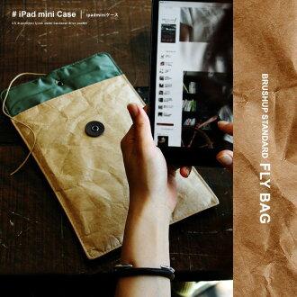 重新溫習標準刷 ups 標準美國杜邦特衛強 (r) 的使用進行迷你 iPad (啟用迷你 IPad) (棕色) 男裝女裝手袋品牌