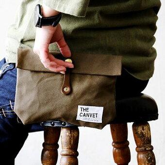 ウエストバッグ パラフィン加工 8号キャンバス ヌメ革ベルト ウエストポーチ ウェストポーチ ウェストバッグ