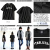 ANGEL×ALISTAIR LOUD [laud Engel × Alistair] short sleeve printed TABLISTA big silhouette t-shirts (large black-large size)
