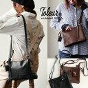 【送料無料】 toleur [トーラ] ショルダーバッグ ショルダー バッグ カバン 鞄 かばん ミニサイズ ミニバッグ付 小分…