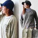 【送料無料】 Heritagestone [ヘリテイジ ストーン] TEE Tシャツ クルーネック ポケット 異素材 生地切替 迷彩柄 ワ…