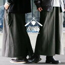 【いい夫婦 割引対象外】【予約販売】スカート マキシ ロング ウエストゴム 紐 サイド カットオフ アクセント USAコッ…