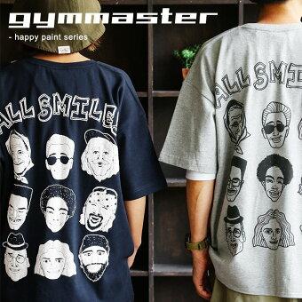 ジムマスター(gymmaster) Tシャツ 半袖 クルーネック ビッグシルエット ビッグT ナノファイン 吸水 速乾 通気性 制菌