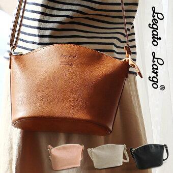 legato largo(レガートラルゴ) ショルダーバッグ ショルダー バッグ カバン ジップ 鞄 シンプル フェイクレザー