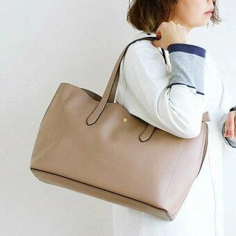 legato largo(レガートラルゴ) トート トートバッグ かるいかばん Lineare 軽い A4 内ポケット PU シンプル ハンドル