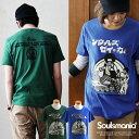 SOULSMANIA ソウルズマニア Tシャツ コットン プリント デザイン