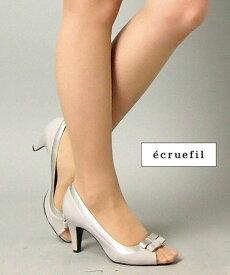 【レンタル】レンタル シューズ【パンプスレンタル シルバーグレー24.0cm(L)】ecruefil エクリュフィルネット レンタル 結婚式 靴 サンダル 【RCP】 fy16REN07