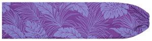 紫のパウスカートケース モンステラ・ヤシ総柄 pcase-2022pppp ★オーダーメイド 【メール便可】