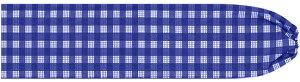 青のパウスカートケース パラカ柄 pcase-2028bl ★オーダーメイド ブルー 【メール便可】