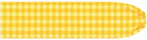 黄色のパウスカートケース パラカ柄 pcase-2028yw ★オーダーメイド イエロー 【メール便可】