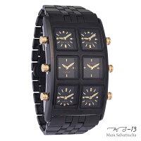 【MS-13】腕時計6TIMEZONEシックスタイムゾーン