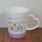 【しばんばん】ハートマグカップ(柴犬)ハート【犬マグカップ】