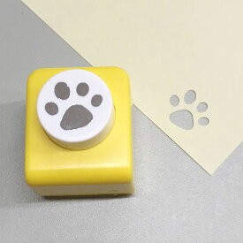 【Carla Craft】クラフトパンチ パウ 肉球【猫雑貨 犬雑貨 ユニーク 手紙 足跡 あしあと】