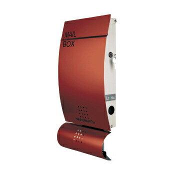 郵便ポスト 壁付け 壁掛け モダンデザイン郵便ポスト・ラウンドシェイプタイプ Mail Box MB4501 シャンパンゴールド スタンドポール 別売り
