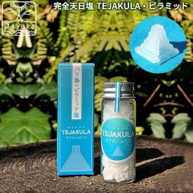 完全天日塩 TEJAKULA ピラミッド 携帯瓶入り7g l 自然結晶塩 クリスタルソルト ソルト オーガニック 無添加 食品 調味料 スパイス 塩 しお 海塩 天然 ナチュラル ノンケミカル 自然 バリ ミネラル