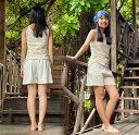 【新着】【新商品】asana HEMP100% ショートパンツ<きなり> ヘンプ100% アジアンファッション レディース リゾートコーデ