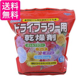 豊田化工 シリカゲル ドライフラワー用 乾燥剤 (1kg) 送料無料  