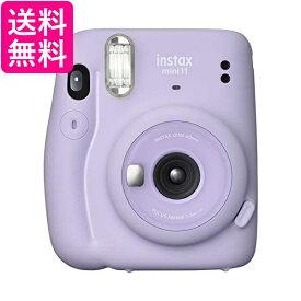 富士フイルム インスタントカメラ チェキ instax mini 11 ライラックパープル INS MINI 11 PURPLE FUJIFILM 送料無料