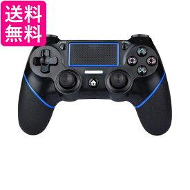 PS4 コントローラー 互換 ワイヤレス Bluetooth タッチパッド 加速度センサー 重力感応 6軸センサー イヤホンジャック付き PC Windows10対応 2021最新版 (管理C) 送料無料