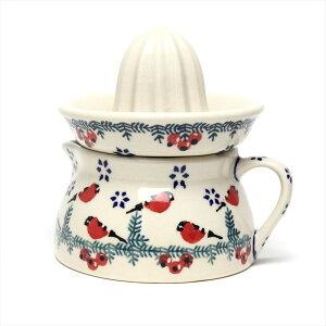 ポーランド食器 レモン スクイーザー 赤い鳥 W17-GILE マヌファクトゥラ社 ポーリッシュポタリー ボレスワヴィエツ陶器 洋食器 東欧 北欧