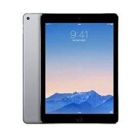 中古タブレット Apple アップル iPad Air2 Wi-Fi+Cellular(au)モデル 16GB スペースグレイ ACアダプターケーブル付属