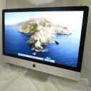 送料無料 中古パソコン 一体型 Apple iMac Late2013 /27インチ/OS X 10.15.6/Core i5/メモリ24GB/HDD1000GB/Webカメラ…