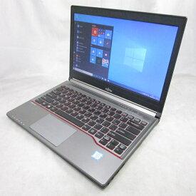 送料無料 中古パソコン ノート FUJITSU LIFEBOOK E736/P /13インチ/Windows10/Core i5/メモリ8GB/新品SSD512GB/