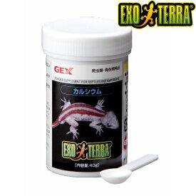 GEX(ジェックス) エキゾテラ カルシウム 40g 爬虫類 フード PT1850 飼育