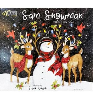 LANG(ラング) 2022年 LANG壁掛けカレンダー SAM SNOWMAN